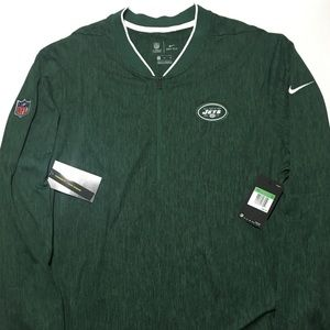 Nike NFL New York Jets 1/4 Zip Pull Over